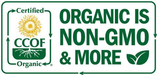 Organic is non-GMO